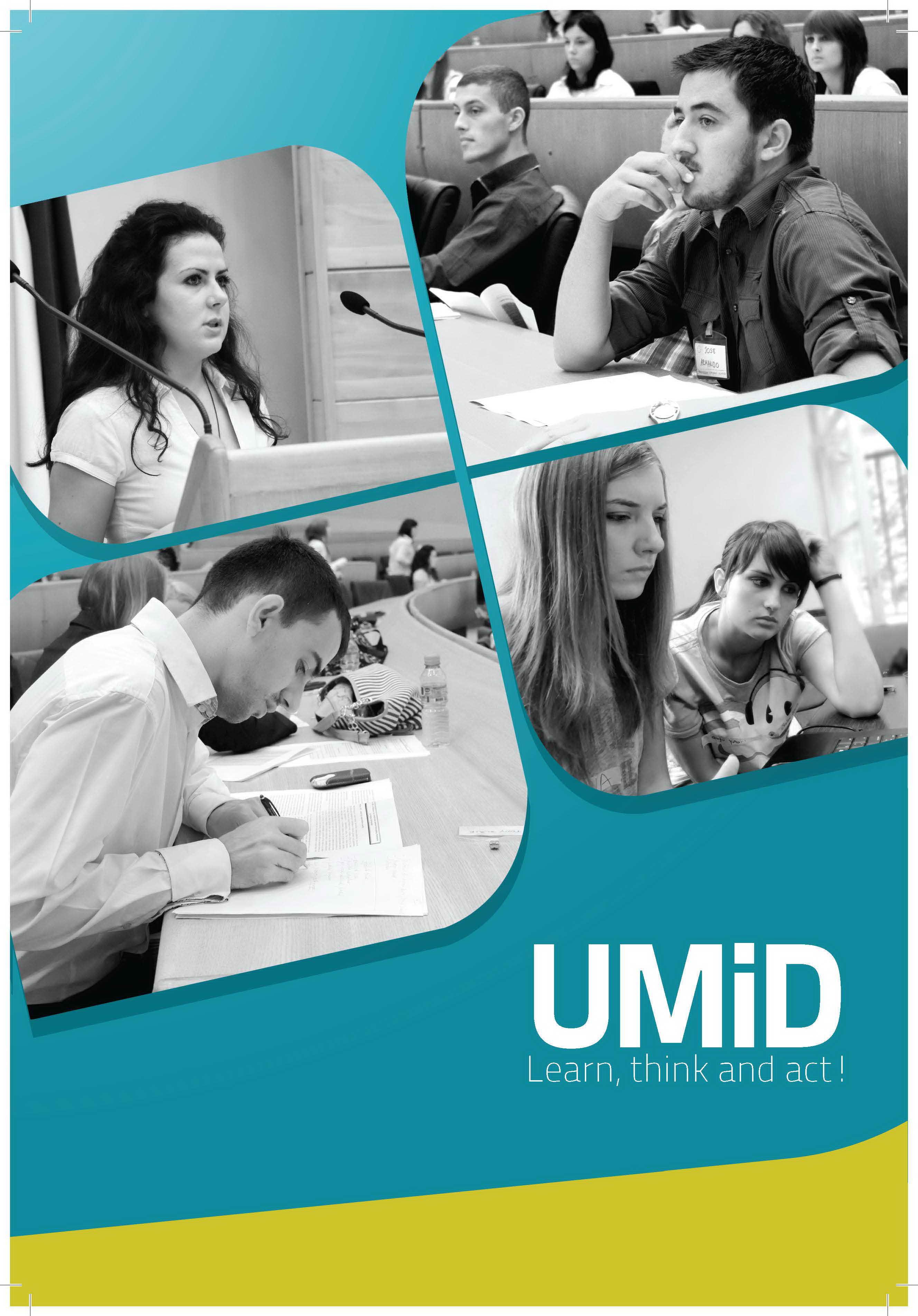 UMiD - Uci, misli i djeluj (Learn, think and act) - brochure